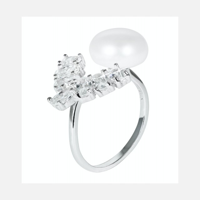 Luxury pearl ring