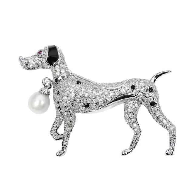 Beautiful brooch doggie