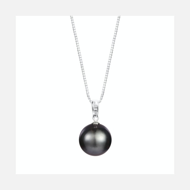 Luxury necklace with real sea Tahitian pearl